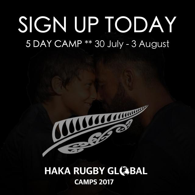 HAKA CAMP - Dubai Sports World July 30 – Aug 3